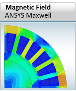 ANSYS Maxwell - magnetic field