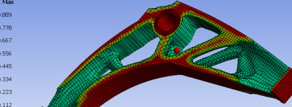 Topological Optimisation with ANSYS 17.0