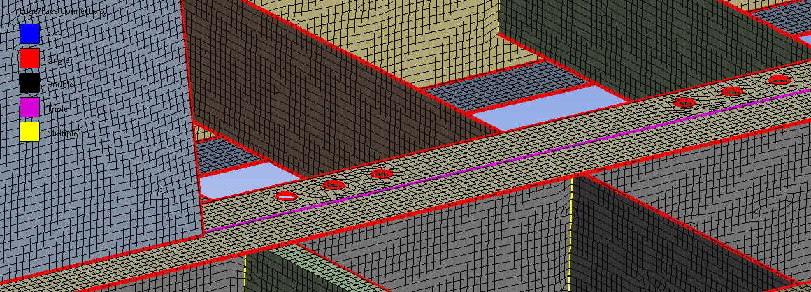 Meshing Fabricated Structures in ANSYS Mechanical using Mesh Edit