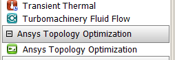 ANSYS 17.0 Topology Optimisation ACT