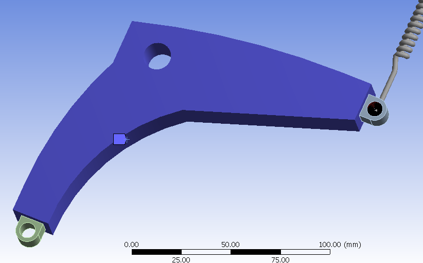 ANSYS Spring Model
