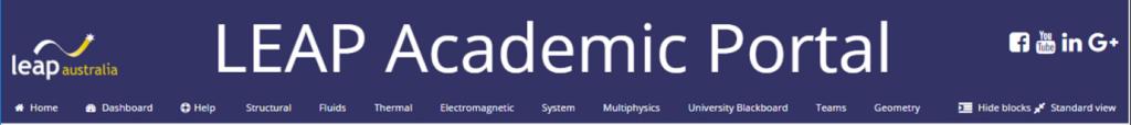 LEAP Australia Academic Portal