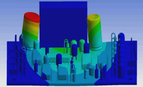 ANSYS Simulation results for Printed Circuit Boards (PCBs)