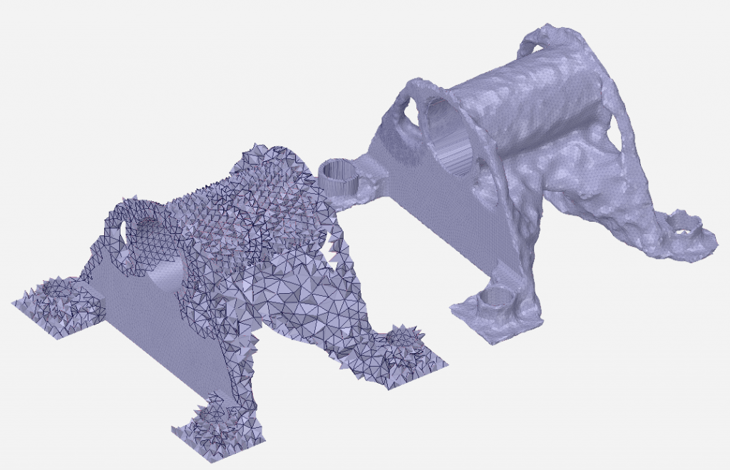 Optimised STL Clean-Up in ANSYS SpaceClaim