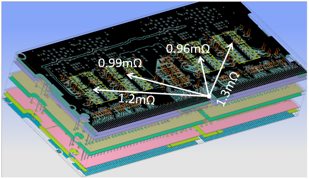 DC Path Resistance solver: ANSYS SIwave