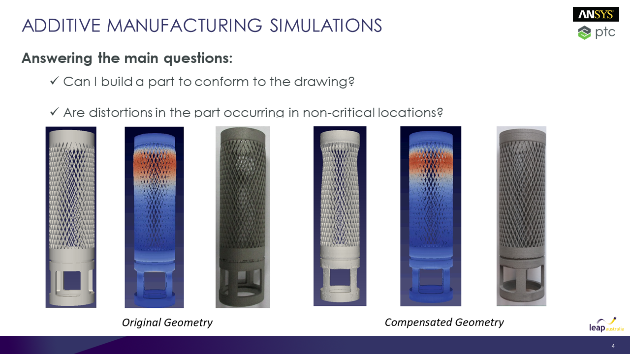 Additive Manufacturing Simulations - Answering the main questions